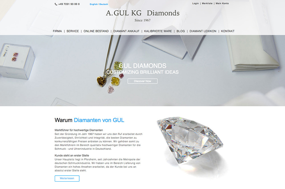 GUL Diamonds