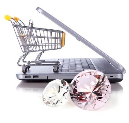 מכירת יהלומים באינטרנט